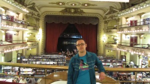 Libreria Ateneo Splendid, antiguo teatro reconvertido.